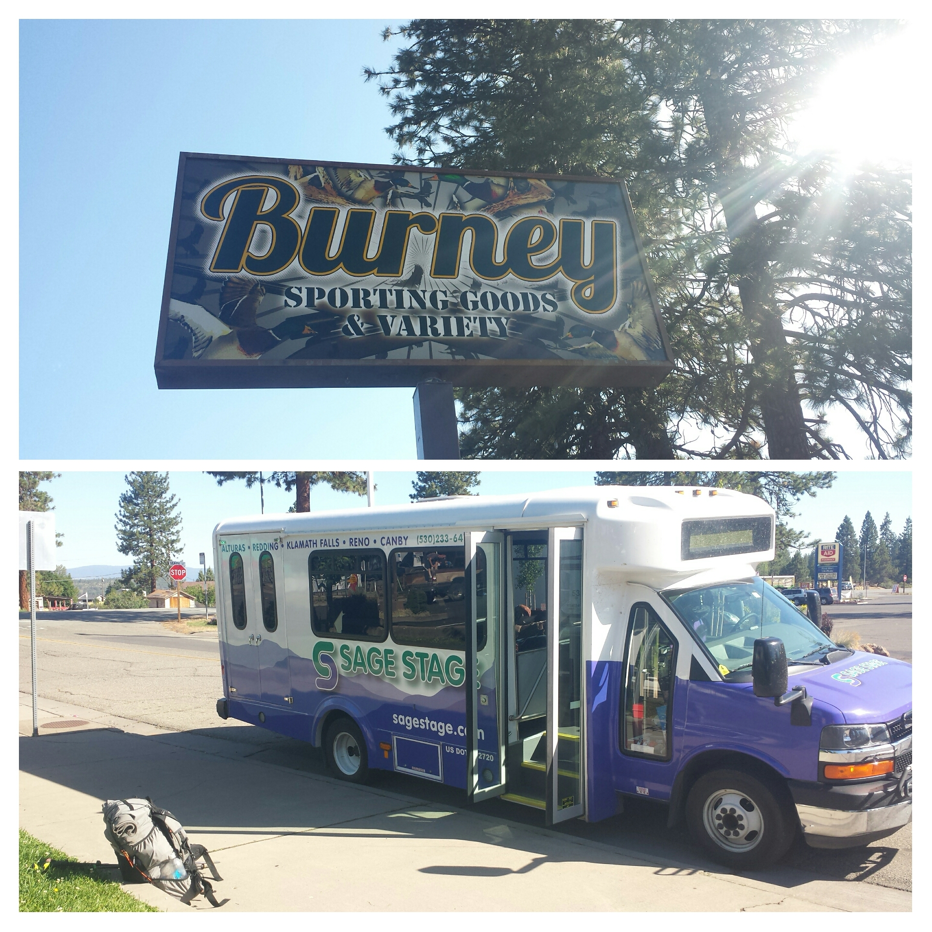 Burney bus to Redding