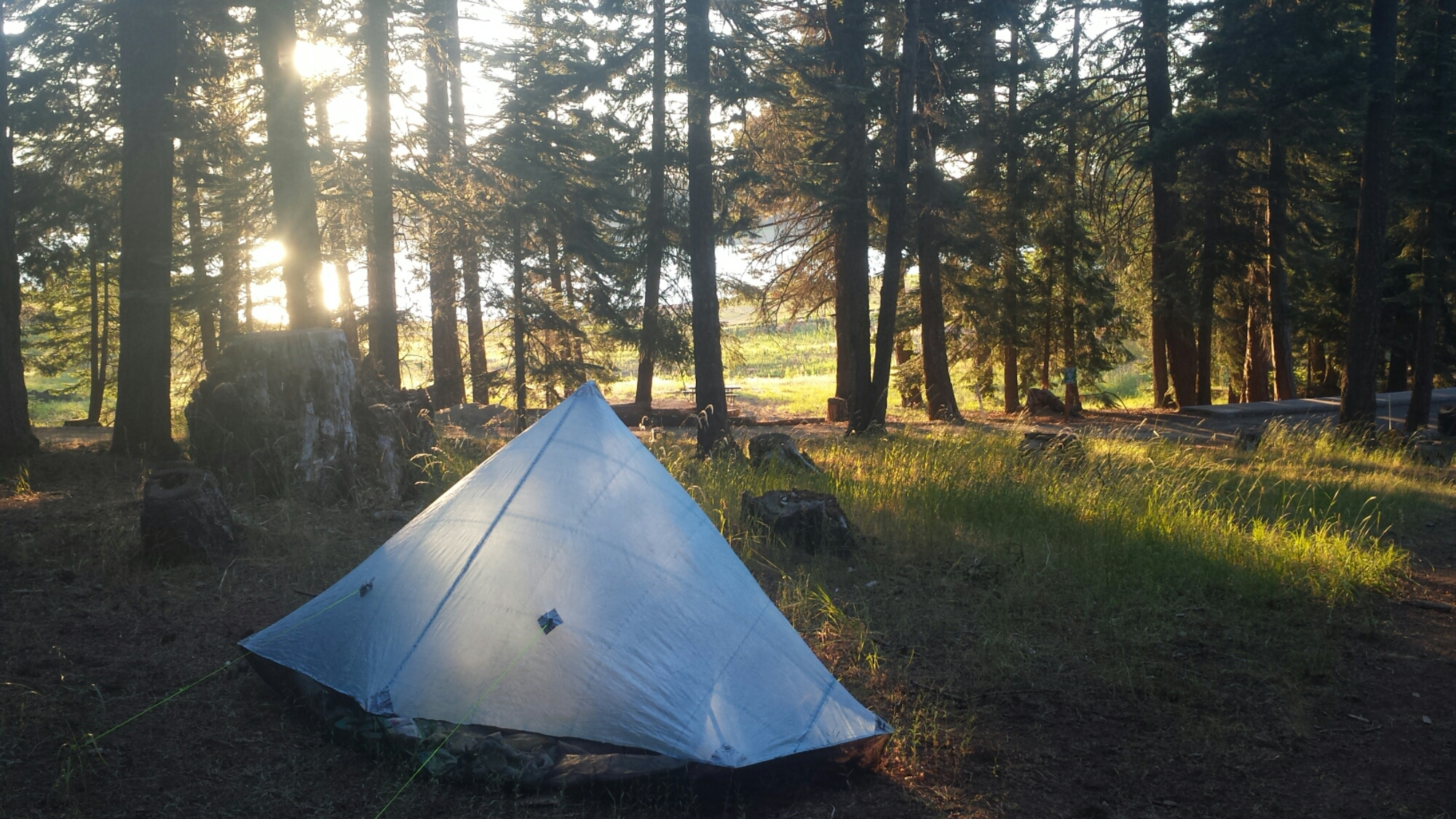 Camping at Klum Campground