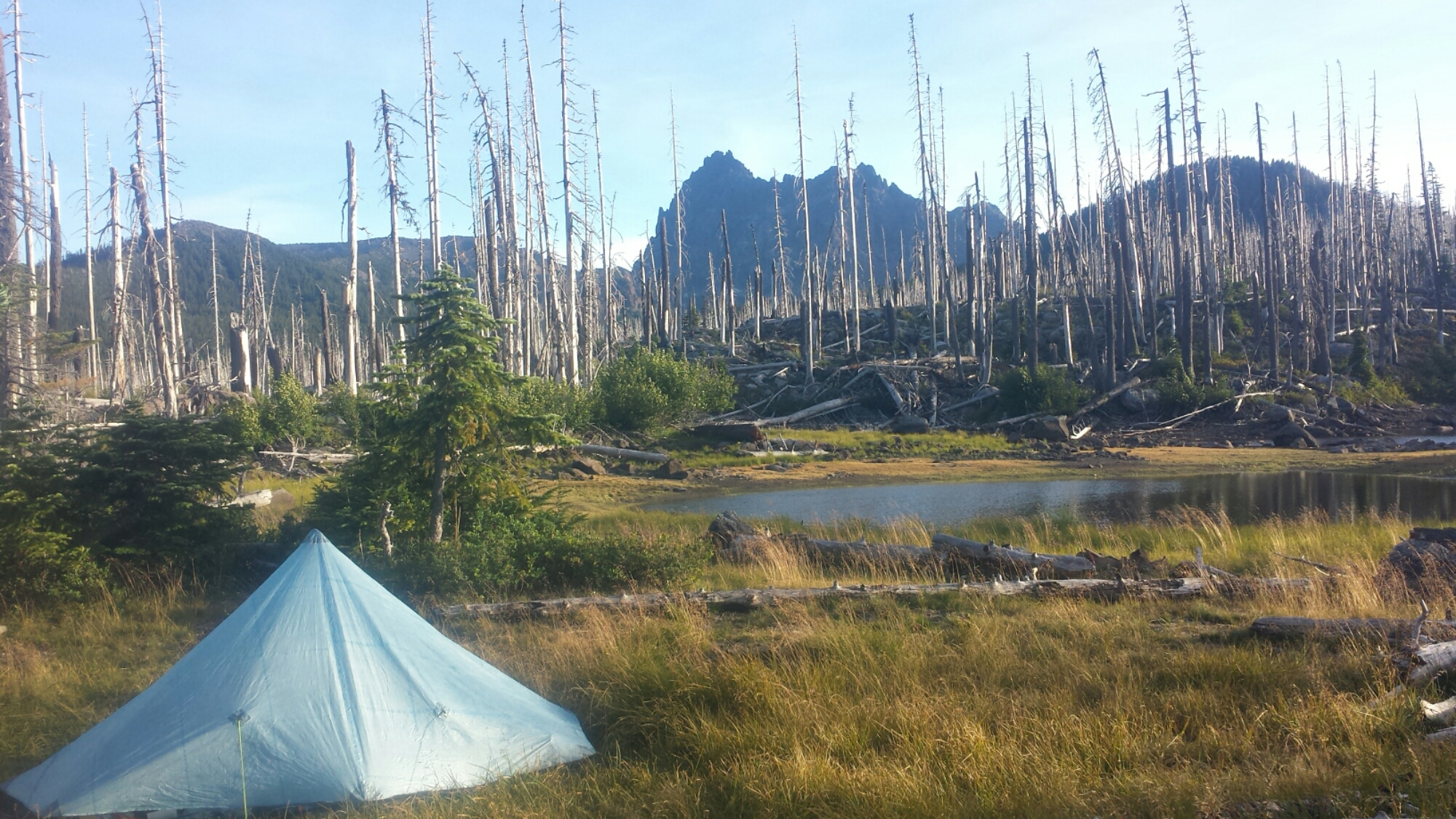 Camping near Koko Lake