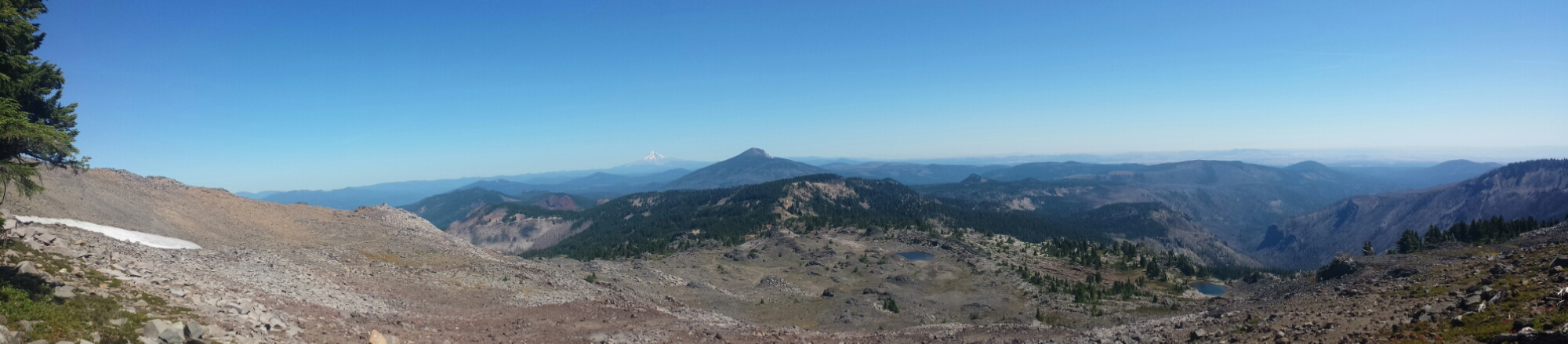 Looking north toward Mount Hood