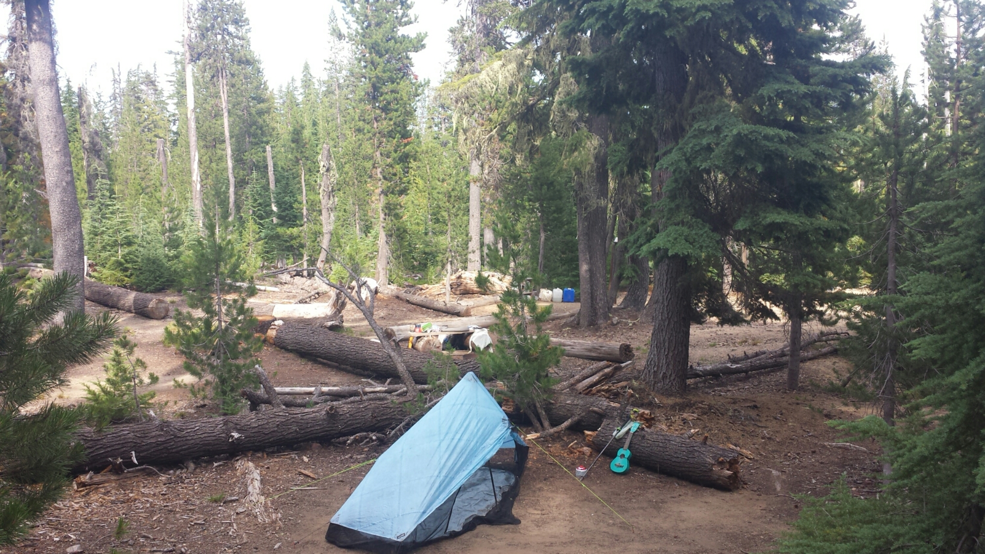 Camping at Windigo Pass