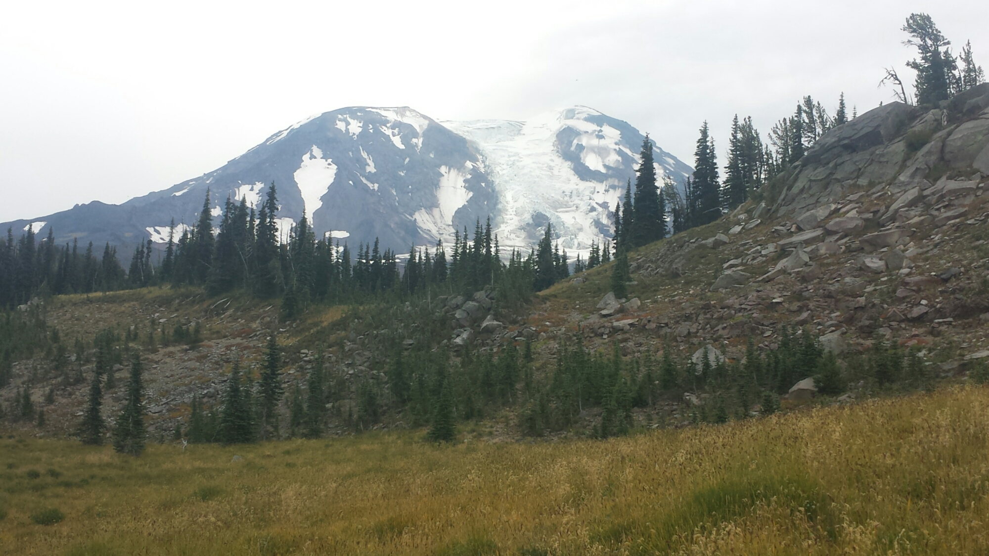 Mount Adams and Adams Glacier
