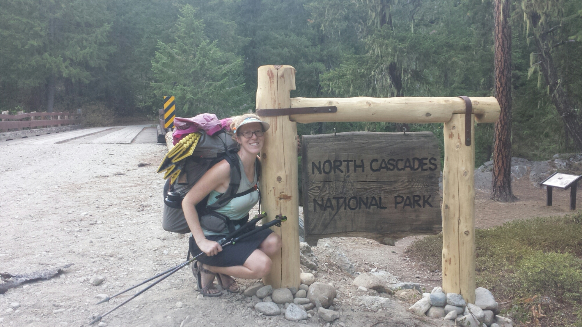 Entering North Cascades National Park
