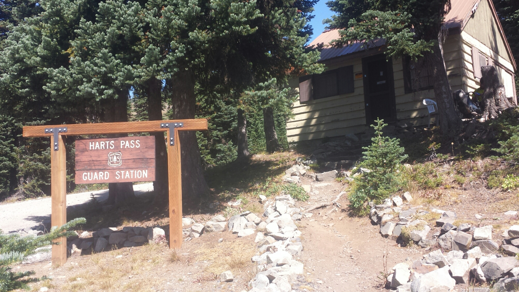 Hart's Pass Ranger Station