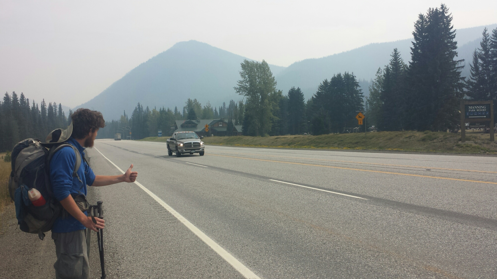 Hitching to Vancouver